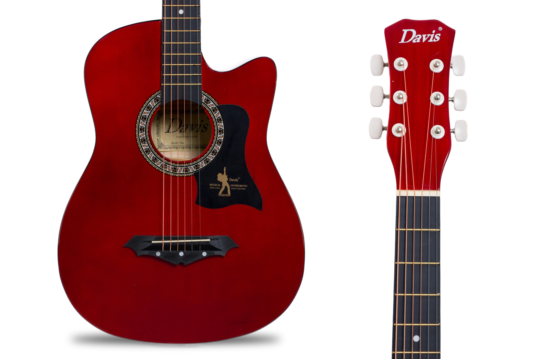 Davis Musical Instruments-JG38C-RD_2
