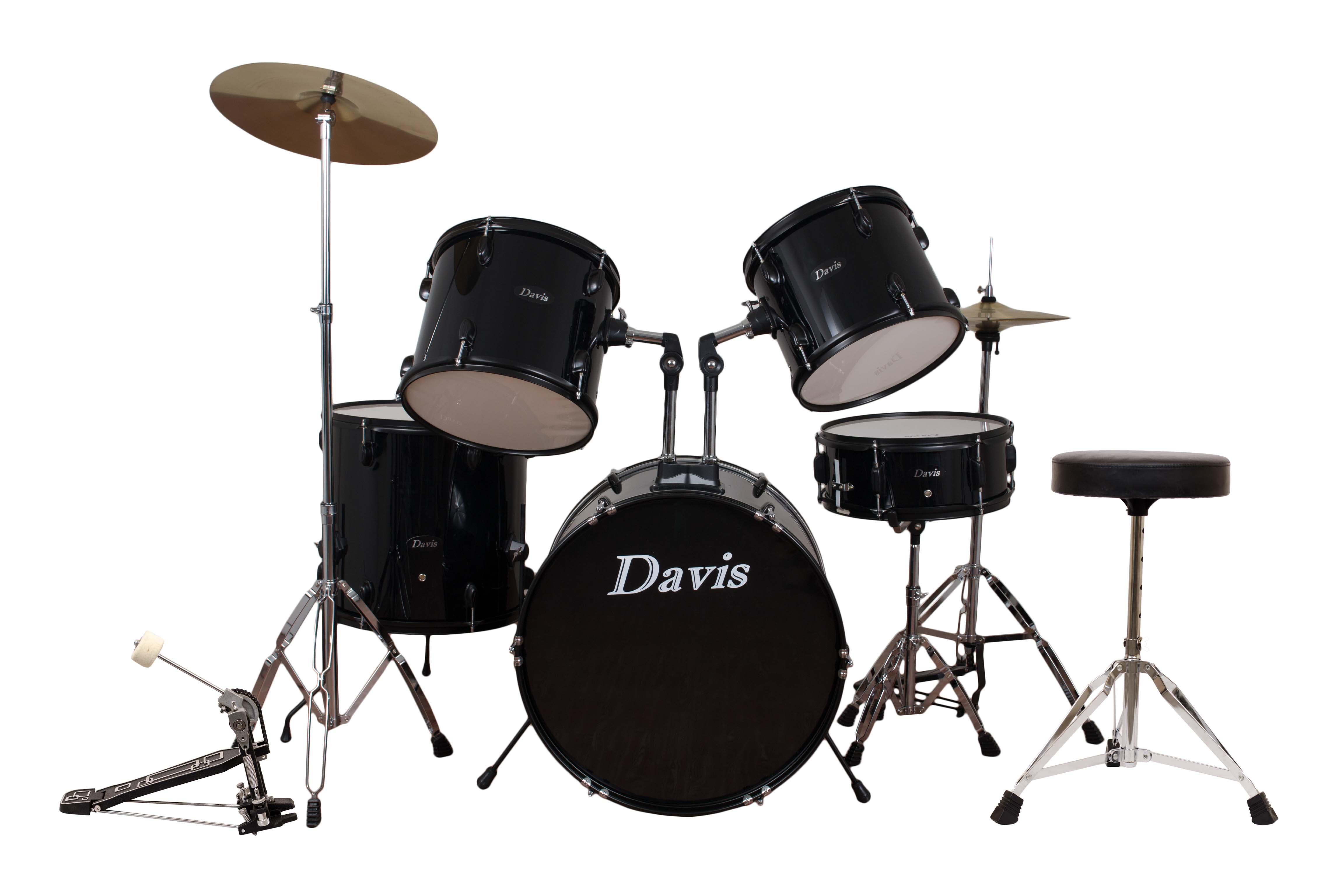 Davis Musical Instruments- DRS-03B-BLK_0