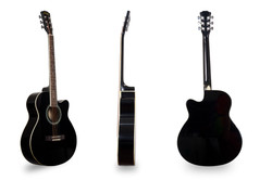 Davis Musical Instruments-DA-4007-BLK_1