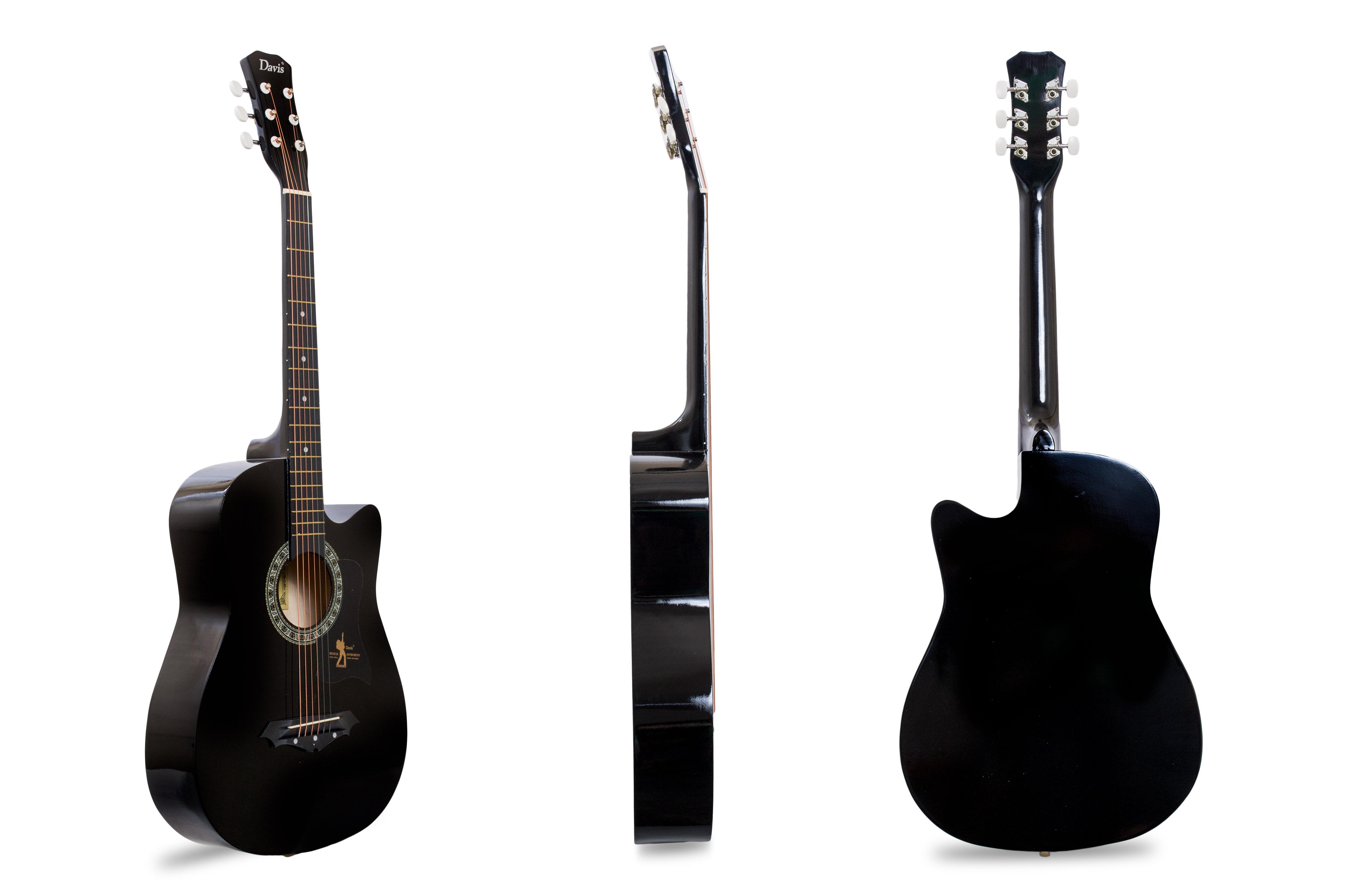 Davis Musical Instruments-JG38C-BLK_1