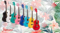 Jasmine Musical Instruments-JUK-23adds