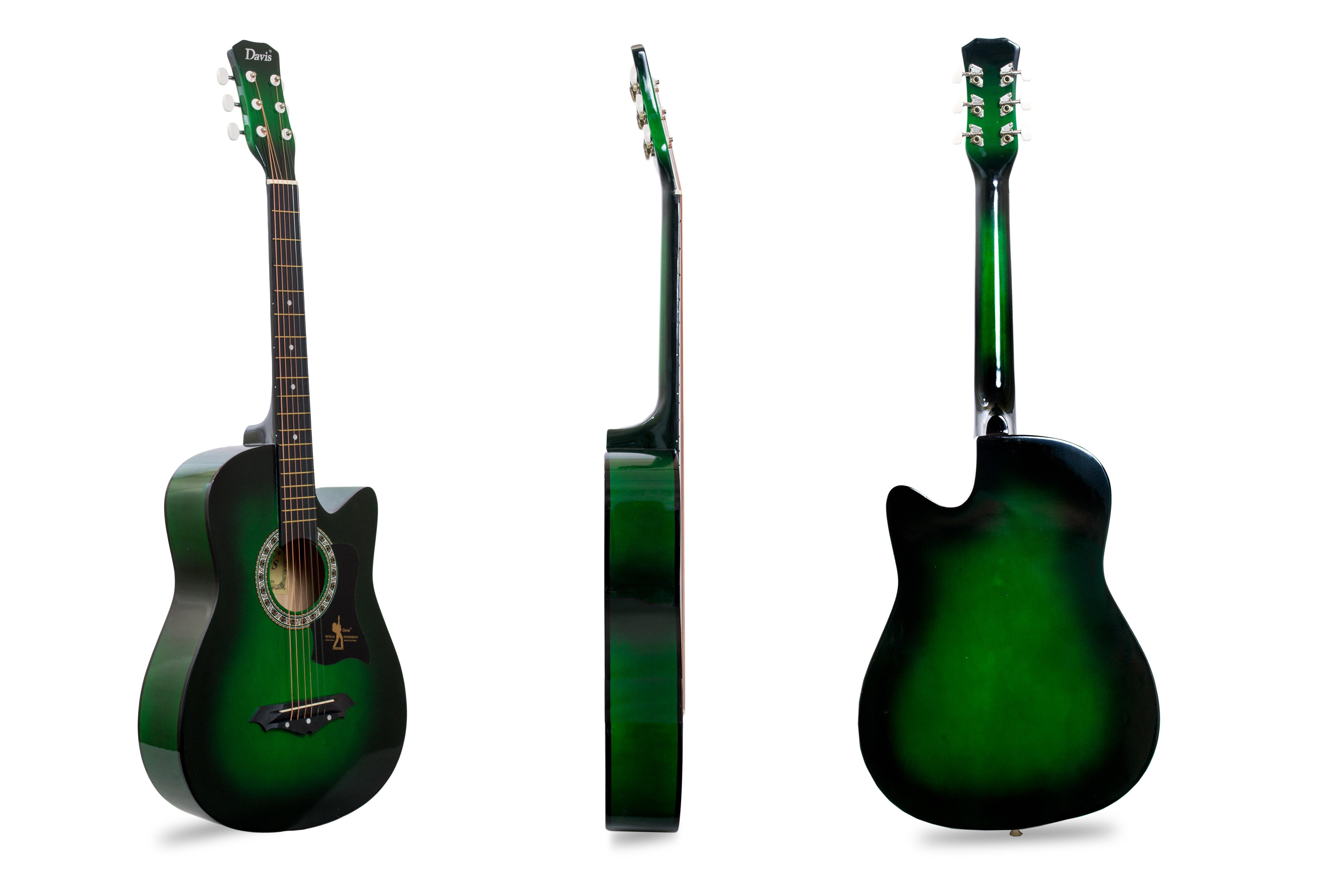 Davis Musical Instruments-JG38C-GR_1