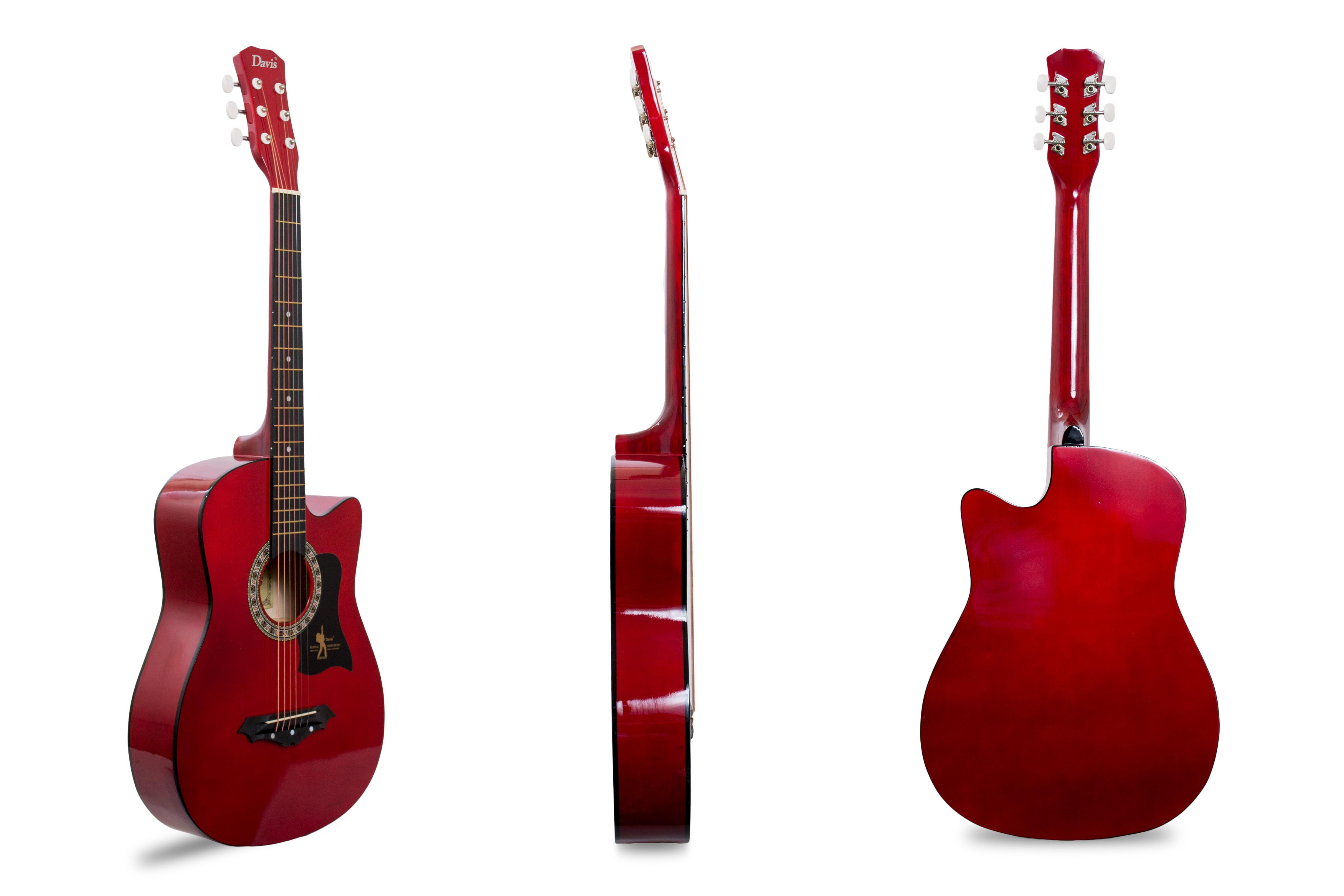 Davis Musical Instruments-JG38C-RD_1