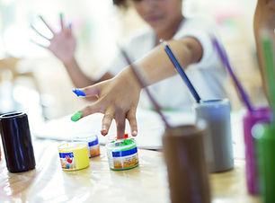 bambini pittura