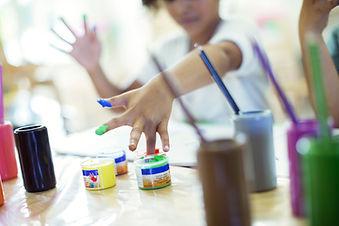 enfants Peinture