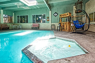 indoor pool spa.703 Southwick St Santa P