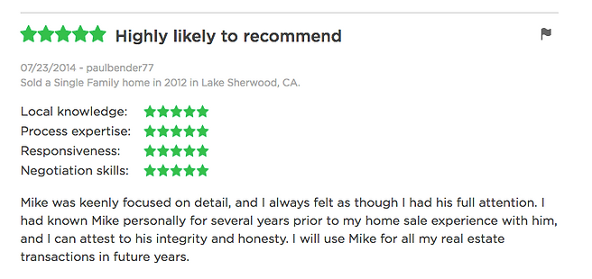 Realtor Mike Gratland review