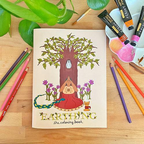 "Digital ""Earthing"" Coloring Book"