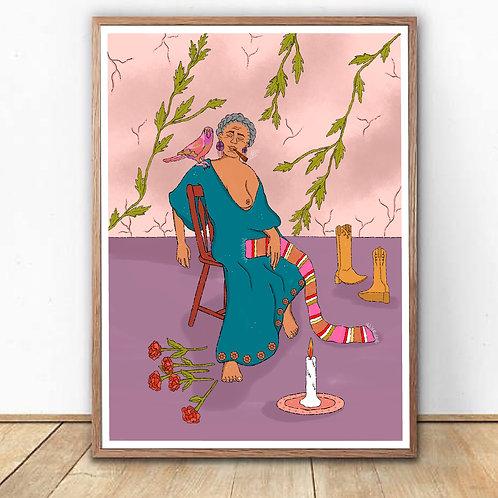 """""""La Sabiduría"""" Art Print"""