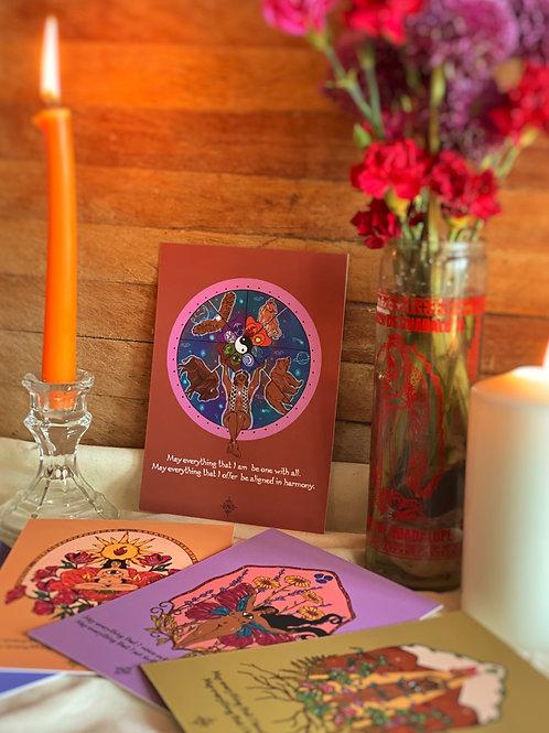 Sacred Elements Post Card Prints