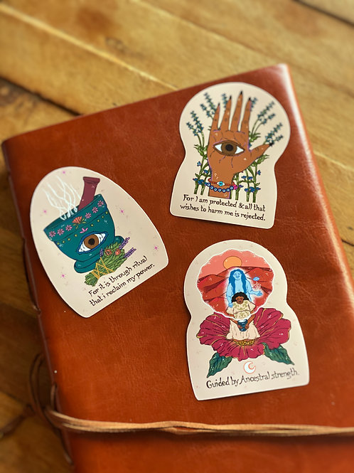 Ancestral Protection Sticker Pack