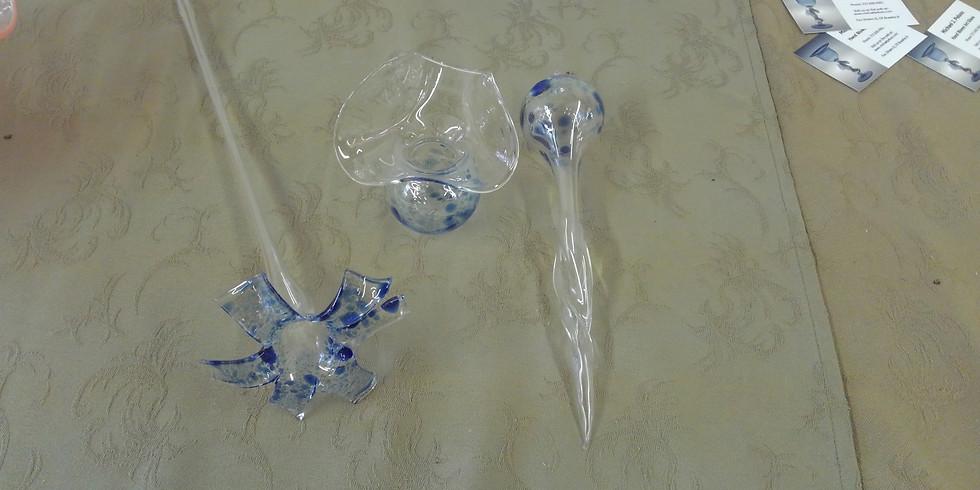 Flower or Shot Glass Blowing Class