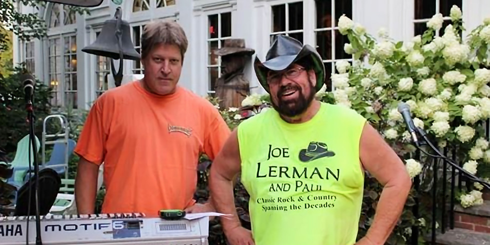Joe Lerman & Paul LIVE
