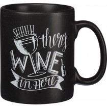 There's Wine in Here Mug in PA