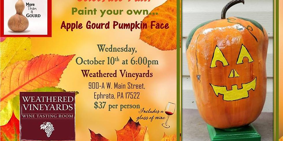 Apple Pumpkin Gourd