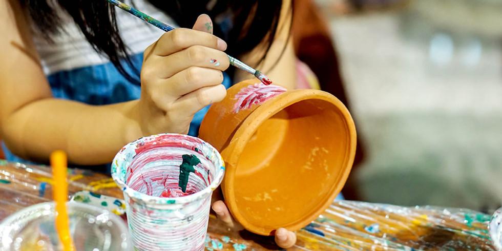 Flower Pot Painting Workshop
