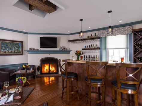 Cozy Wine Tasting Room