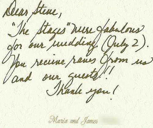 Maria & James