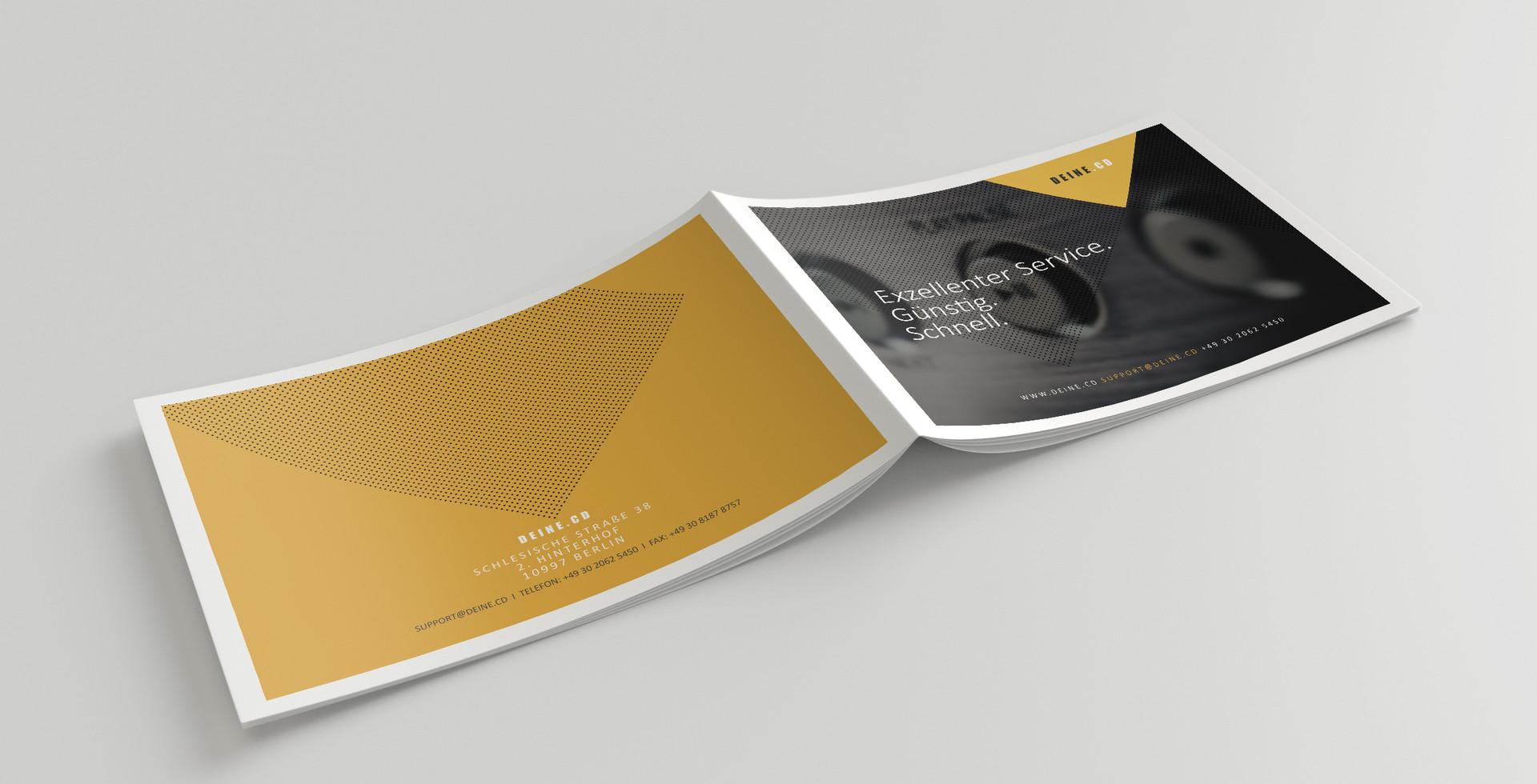 Print Design für DEINE.CD