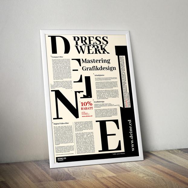 Printdesign/Anzeige DEINE.CD