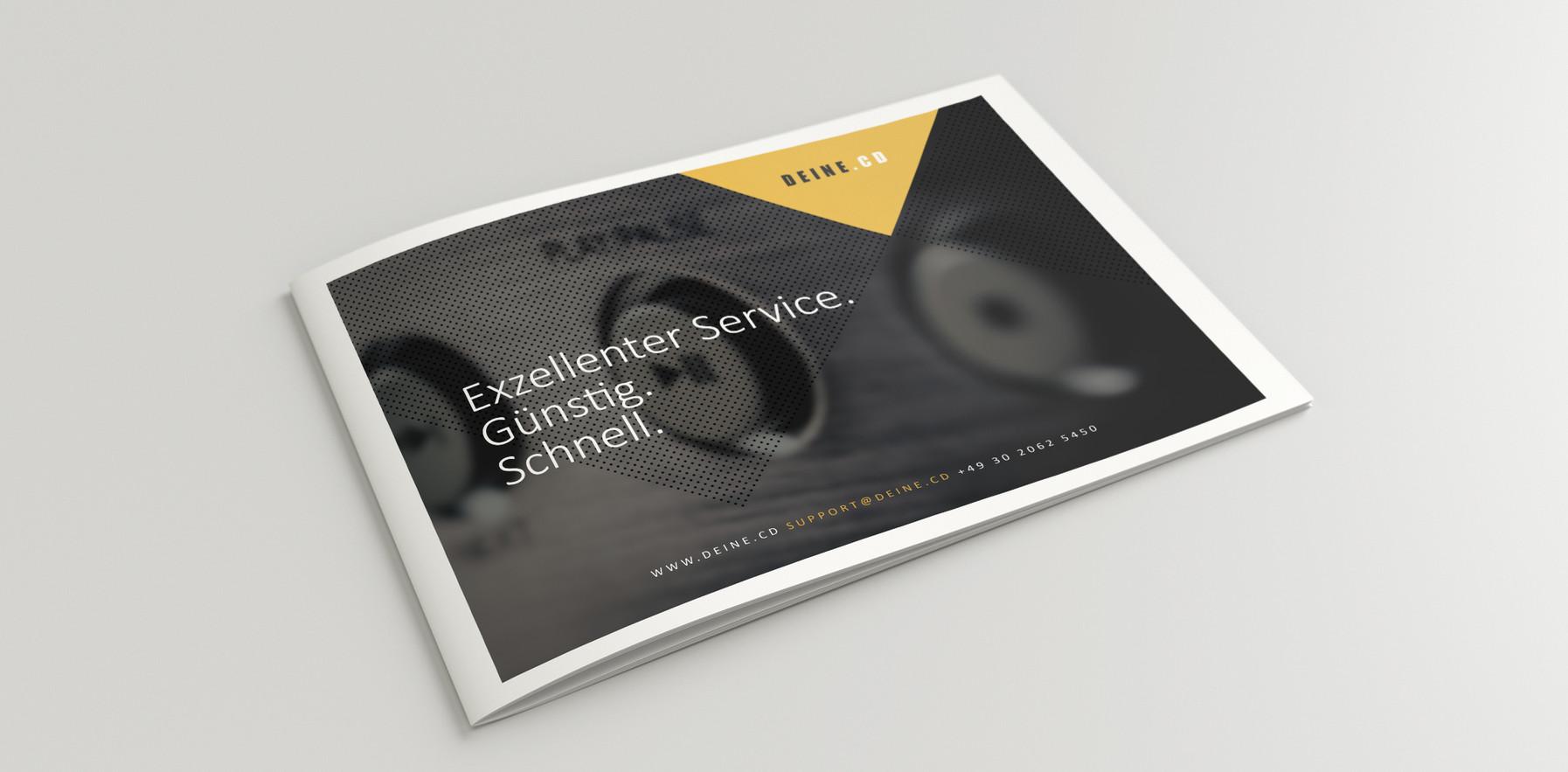 Broschüre Layout // DEINE.CD