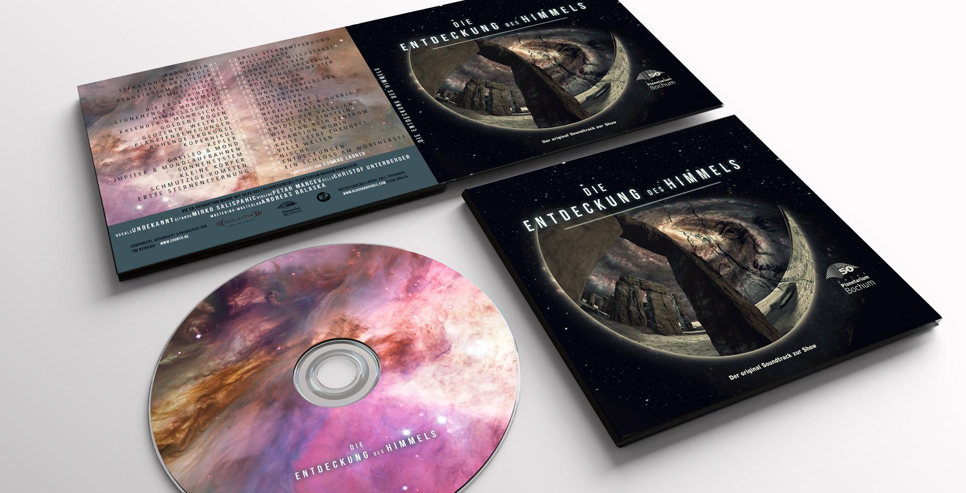 Print Design für das Planetarium Bochum
