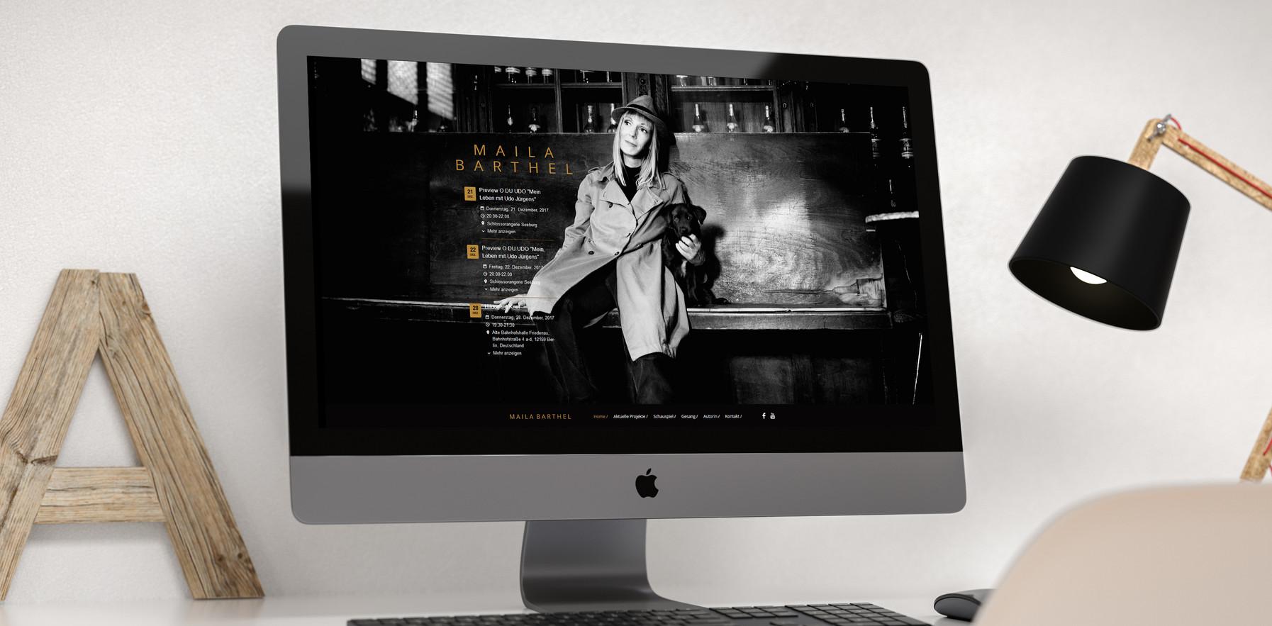 Webdesign // Maila Barthel