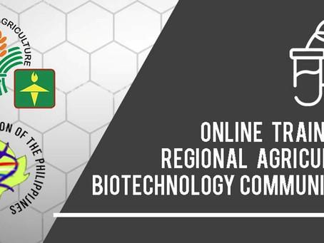 Online training sa regional agricultural biotechnology, itinakda ng ATI