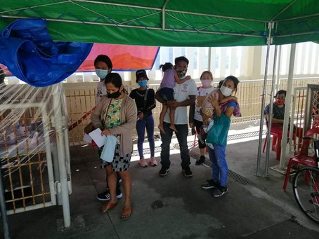 Hatid-Tulong Initiative sends home 87 Mimaropa LSIs