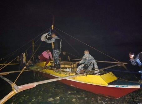3 mangingisda timbog sa illegal fishing sa Cajidiocan, Romblon