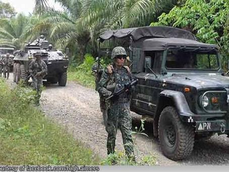 5 NPA at isang sundalo ang nasawi sa engkwentro ng Marines at rebelde sa Brooke's Point, Palawan