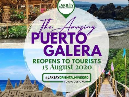 Puerto Galera reopens tourism activities in August