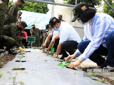 PH Army launches 'Green Camp' program to promote food sufficiency