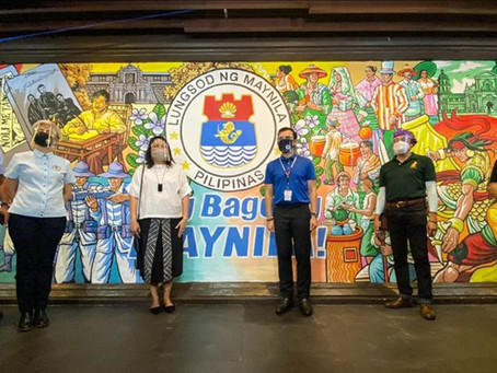 Isko inaugurates newly-redeveloped Lagusnilad Underpass in Manila