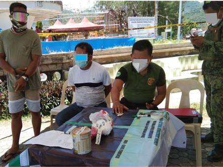 2 lalaki sa San Agustin, Romblon timbog sa drug operation