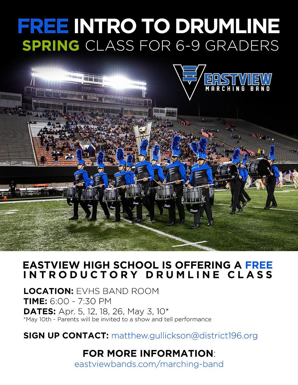 EVMB Intro to Drumline 2021 Poster_v.01_