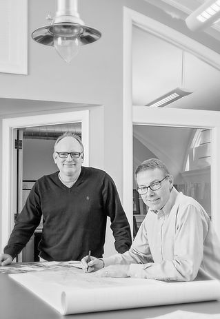 Shoreline architecture partners Mike Pattullo and Steve Werner