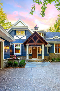 Green Lake Cottage  Nothern Michigan Architecture