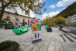 Ausstellung Theaterplatz Chur