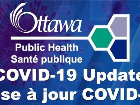 COVID-19 Update | Mise à jour COVID-19