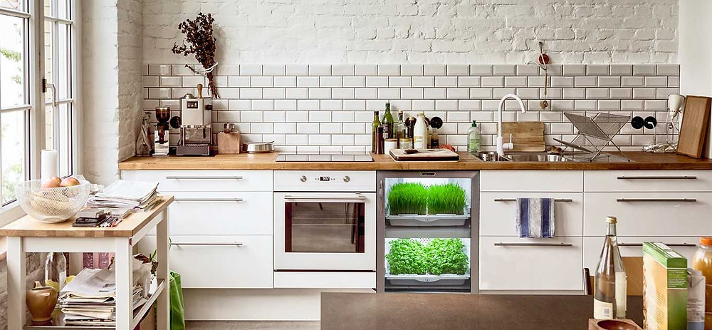 Urban Cultivator under-counter unit