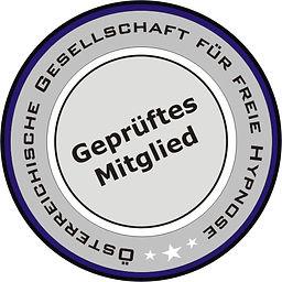 Hypnosecoach, Hypnosetrainerin, geprüftes Mitglied der Gesellschaft für freie Hypnose Österreich, ausgebildete Hypnotiseurin