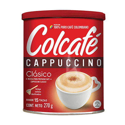 CAFE COLCAFE CAPUCCINO CLASICO  X 270 GR