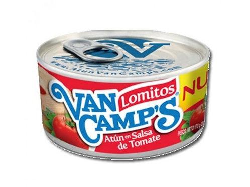 ATUN VAN CAMPS LOMITOS TOMATE X 160 GR