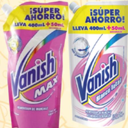 BL. VANISH X 2 UND. X 450ML