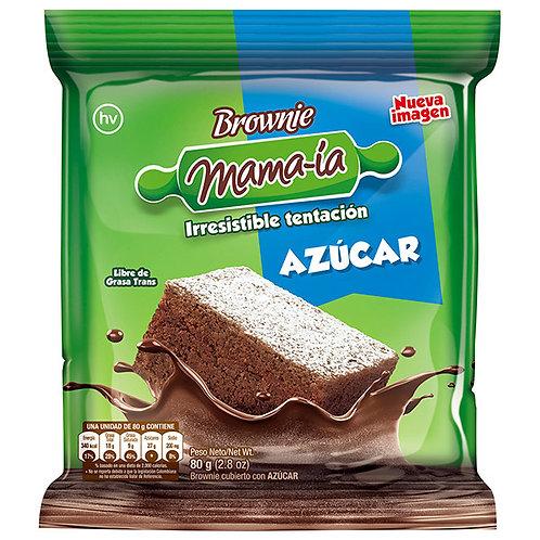 BROWNIE MAMA-IA AZUCAR X 80 GR