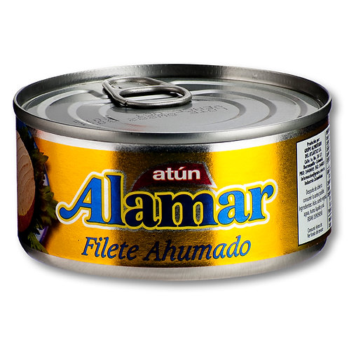 ATUN ALAMAR FILETE AHUMADO X 170 GR