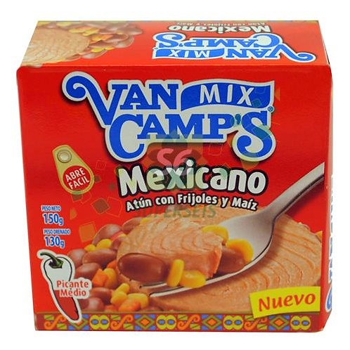 ATUN VAN CAMPS MEXICANO X 150 GR