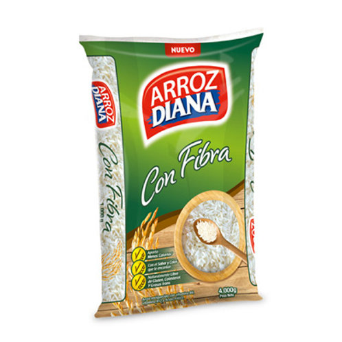 ARROZ DIANA FIBRA X 4000 GR
