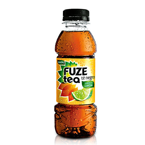 BEB. FUZE TEA NEGRO LIMON PET 400ML